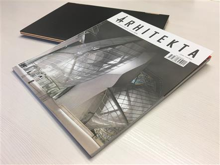 "Arhitekta Magazine Article - ""Real Architecture is a Sculpture"""