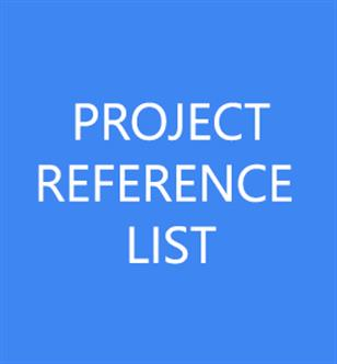 Projects Reference List